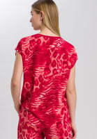 Shirt mit Animal-Allover-Print