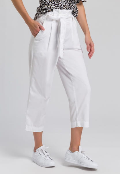 Paper bag trousers summery quality