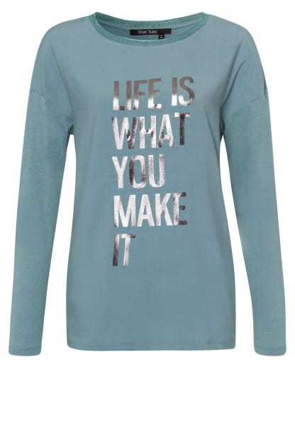 Longsleeve with large message print