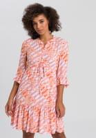 Blusenkleid im Batikprint