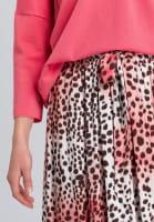 Skirt leopard-style