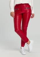 Pants imitation leather