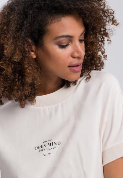 Shirtbluse im Sweatshirt-Stil