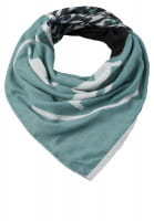 Scarf with discreet pattern mix