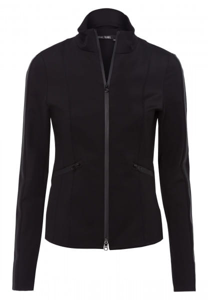 Sports jacket made from technical jersey