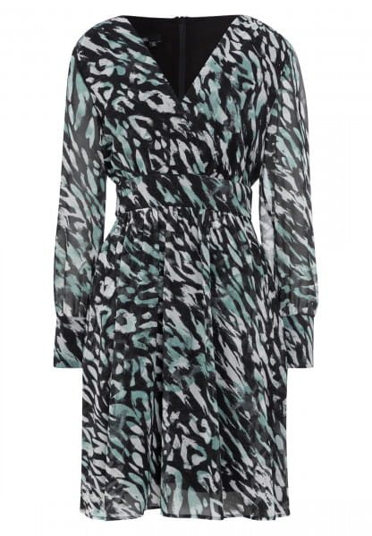 Dress with allover print