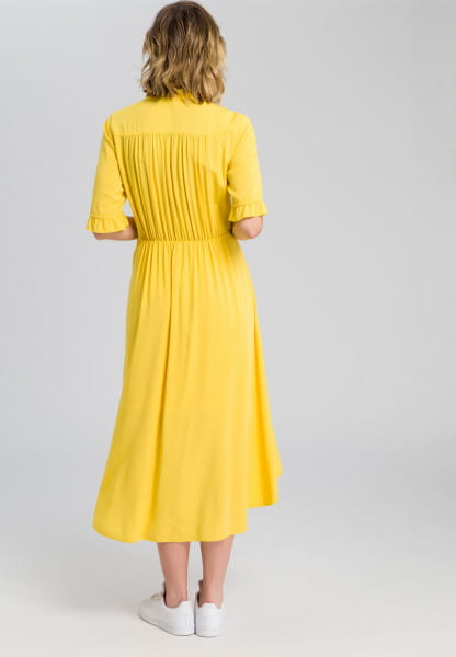 Dress with ruffle details