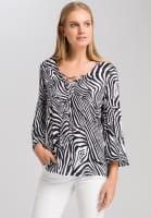 Tunika mit Zebra-Print