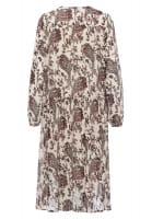 Dress with paisley print