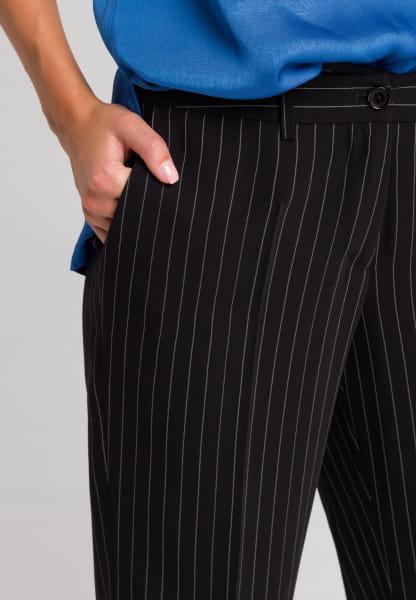 Palazzo trousers pinstriped