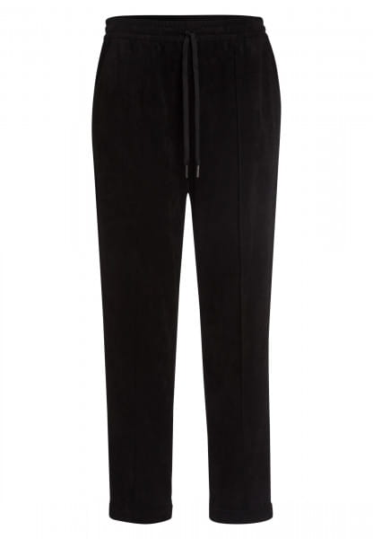 Jogging pants From elastic velour
