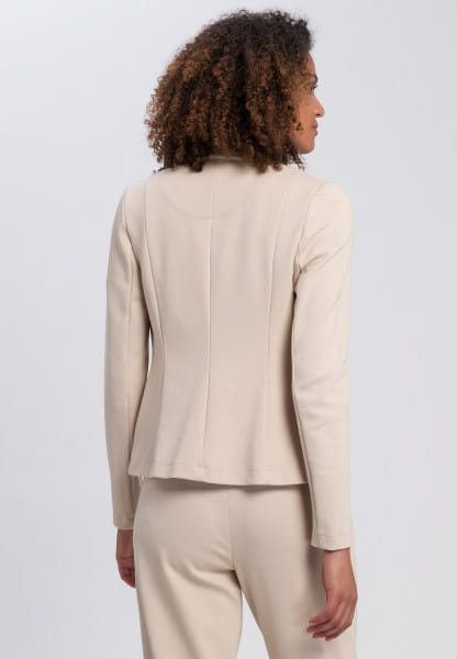 Blazer made from structured jesey