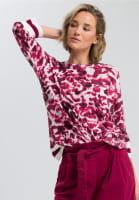 Pullover mit Batikprint