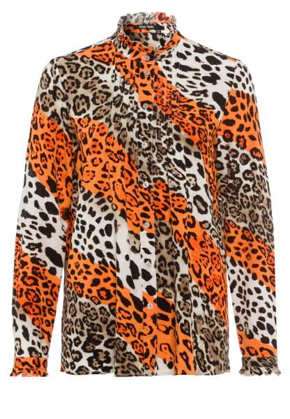 Blouse allover leopard print