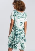 Dress with batik print