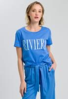 T-Shirt mit Riviera-Print