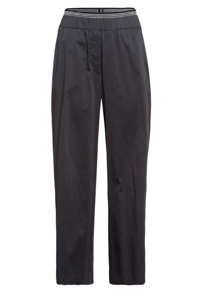 Jogpants with striped cuffs