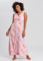 Jerseykleid mit Batikprint