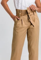 Paperbag Trouser with tie belt