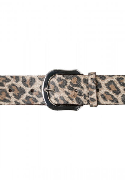 Belt with beautiful leopard print