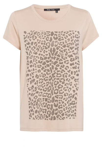 T-shirt with graphic Leo-print