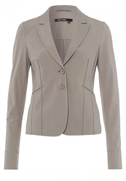 Blazer made from technical jersey