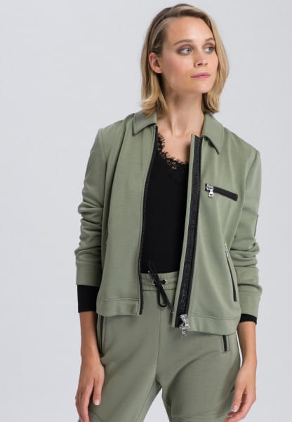 Jacket in a compact fit