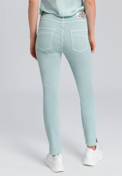 5-pocket-jeans with rhinestone applications