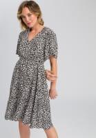 Dress in leopard design