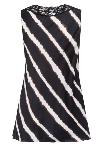 Top mit Batik-Streifen