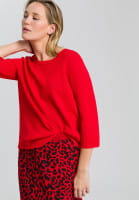 Pullover in Boxy-Passform