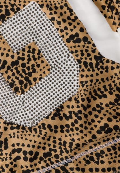 Schal mit Minimal-Print