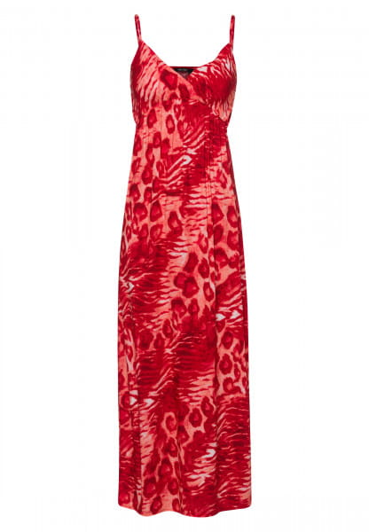 Maxi Dress with animal all-over print