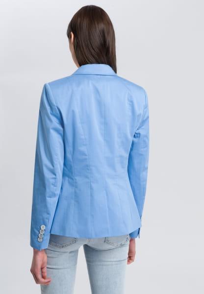 Single Button Blazer with falling lapel