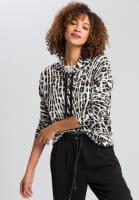 Pullover im auffälligen Animalprint