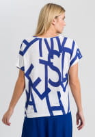 T-shirt with text printing