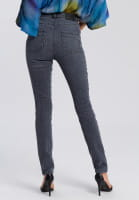 Push-up-Jeans in 5-pocket-style