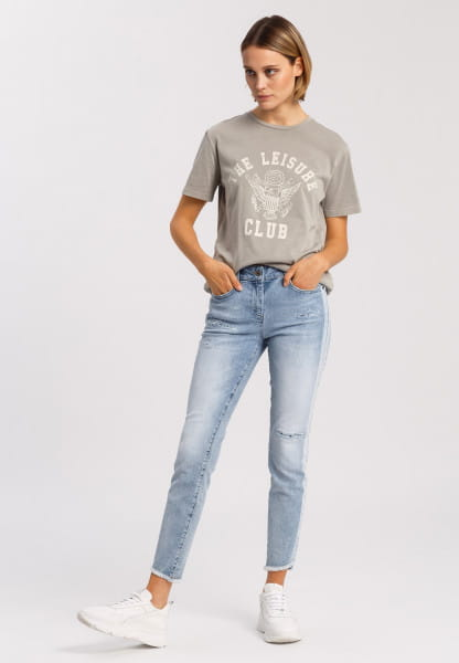 T-shirt with sporty front print