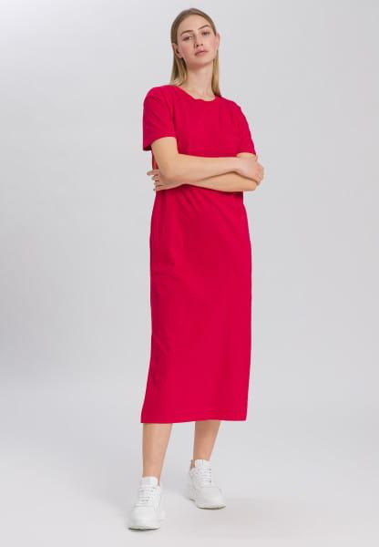 Jersey dress in t-shirt look