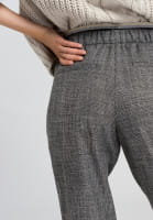 Trousers with tartan