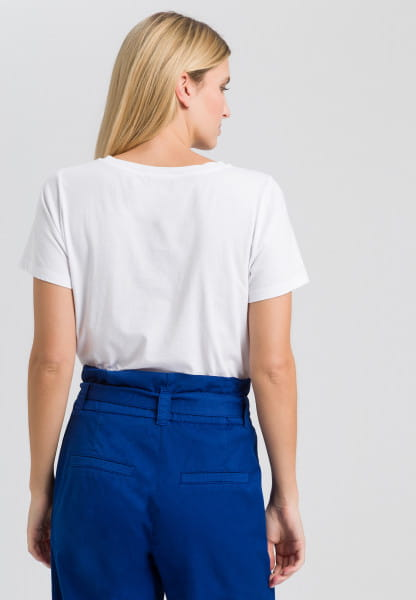 T-Shirt mit Côte d´Azur-Print