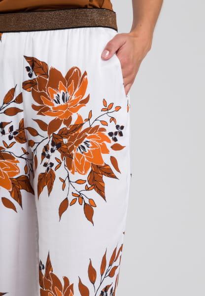 Pyjamahose im Blumenprint