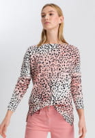 Pullover im Leoparden-Look