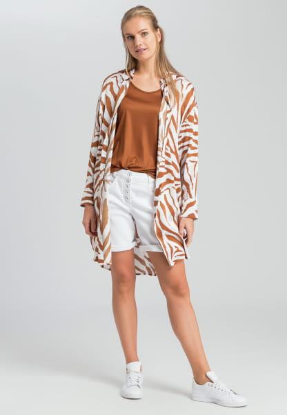 Longhemd mit Tigermuster
