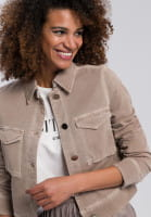 Short jacket made from sustainable material