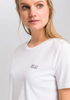 T-shirt with message print on both sides