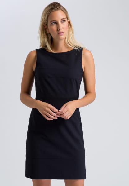 Sheath dress with new wool