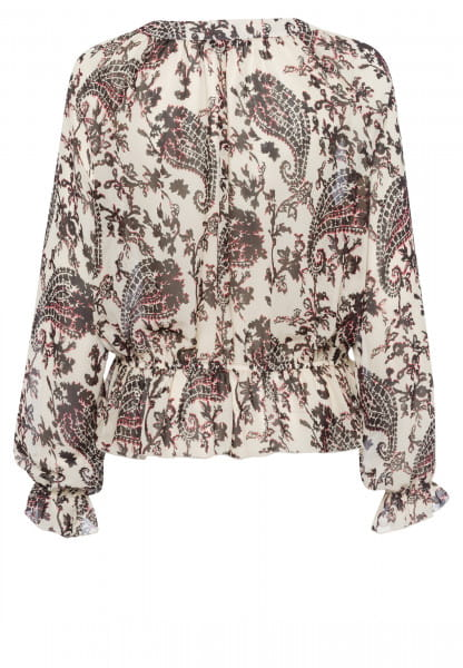 Bluse mit Paisley-Print