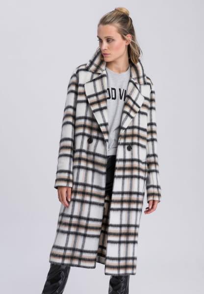 Coat felt-like