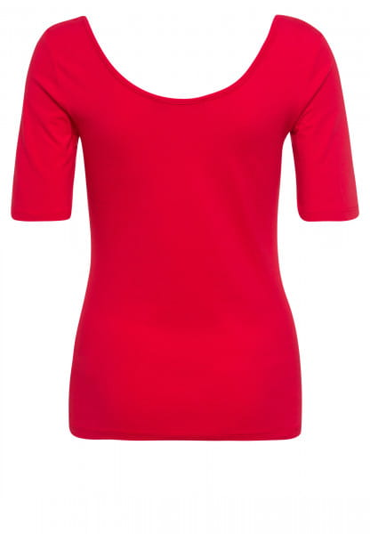 T-shirt with front-stitching